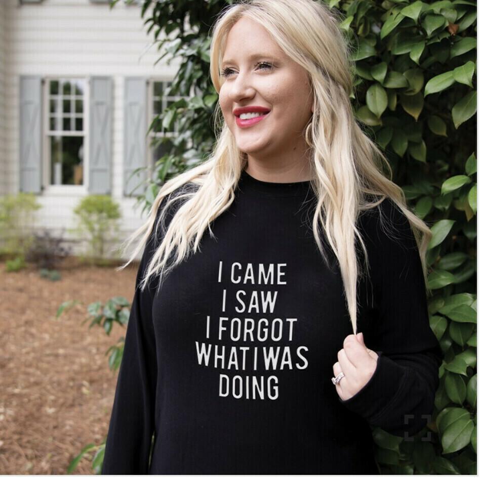 MS Sweatshirt I Came I Saw