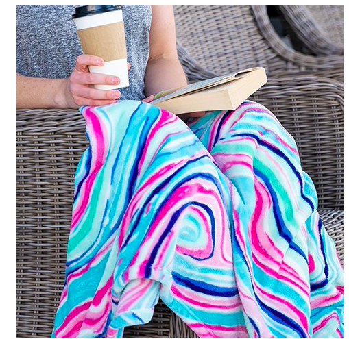 VL Blanket Marble Swirl