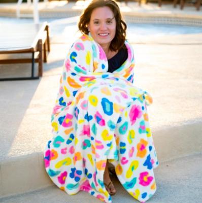 VL Blanket Fun Leopard