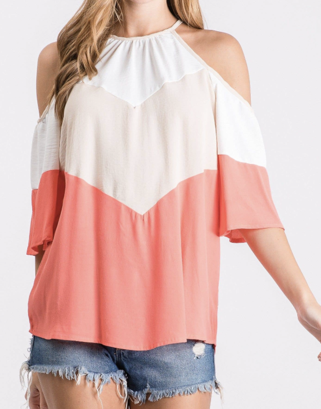 HC Cold Shoulder Top