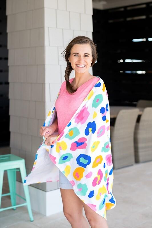 VL Towel Fun Leopard