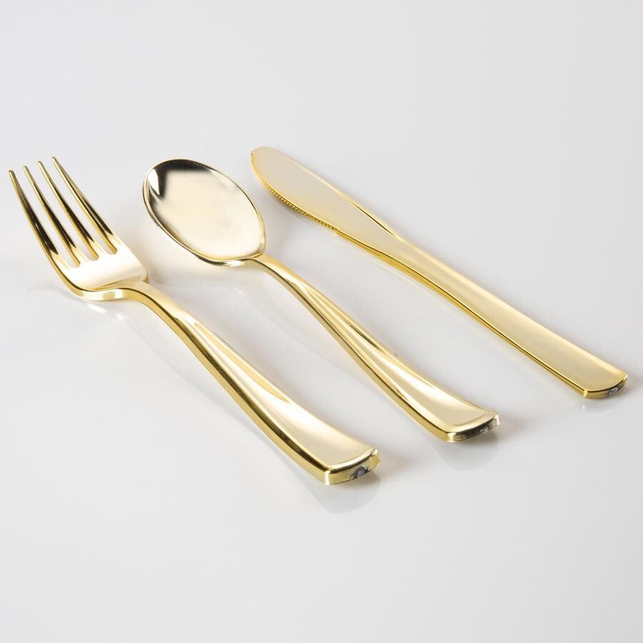 Luxe 36 Piece Cutlery Set Gold