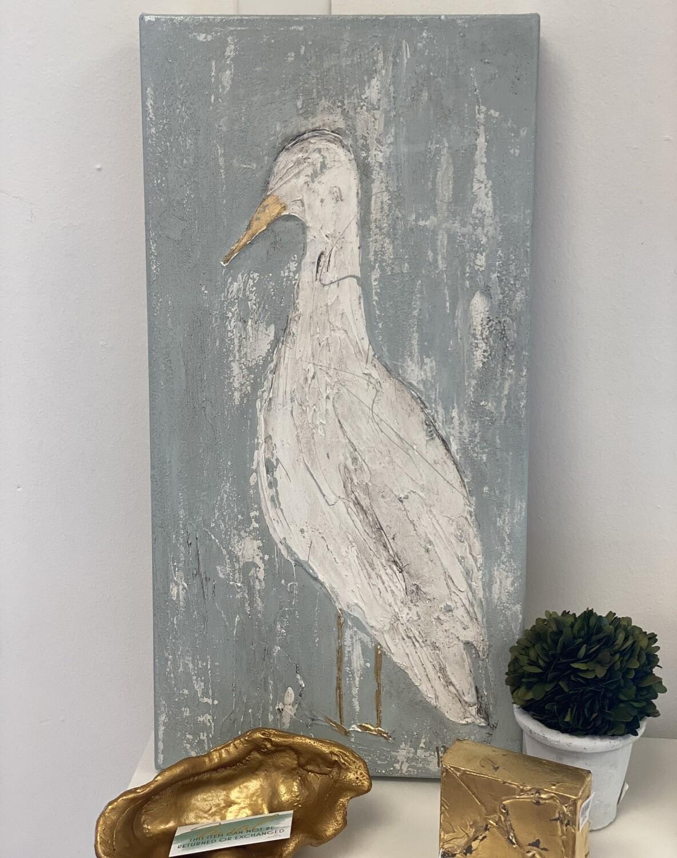 12x24 Bird Painting 1
