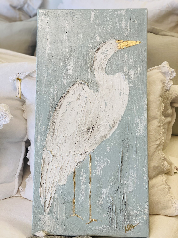 12x24 Bird Painting 2