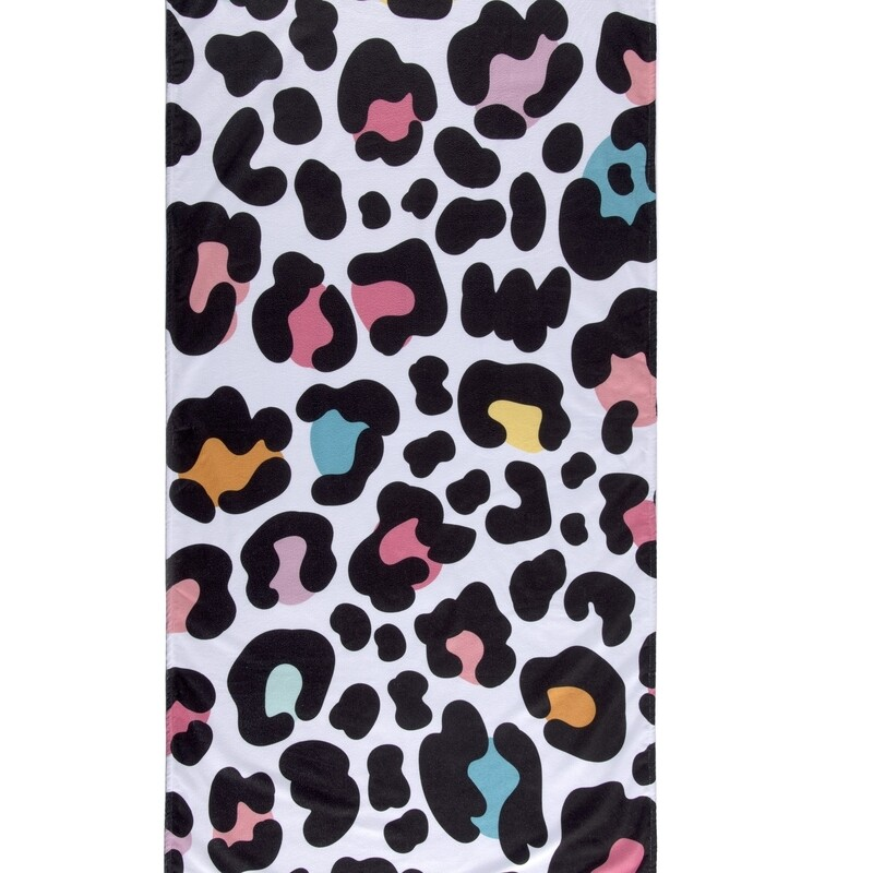 SC Beach Towel Multi Color Leopard