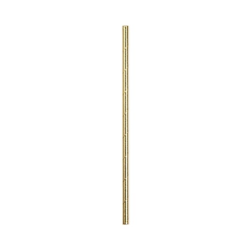 24 Gold Paper Straws