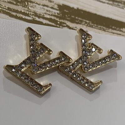 SJ Designer Diamond Studs LV