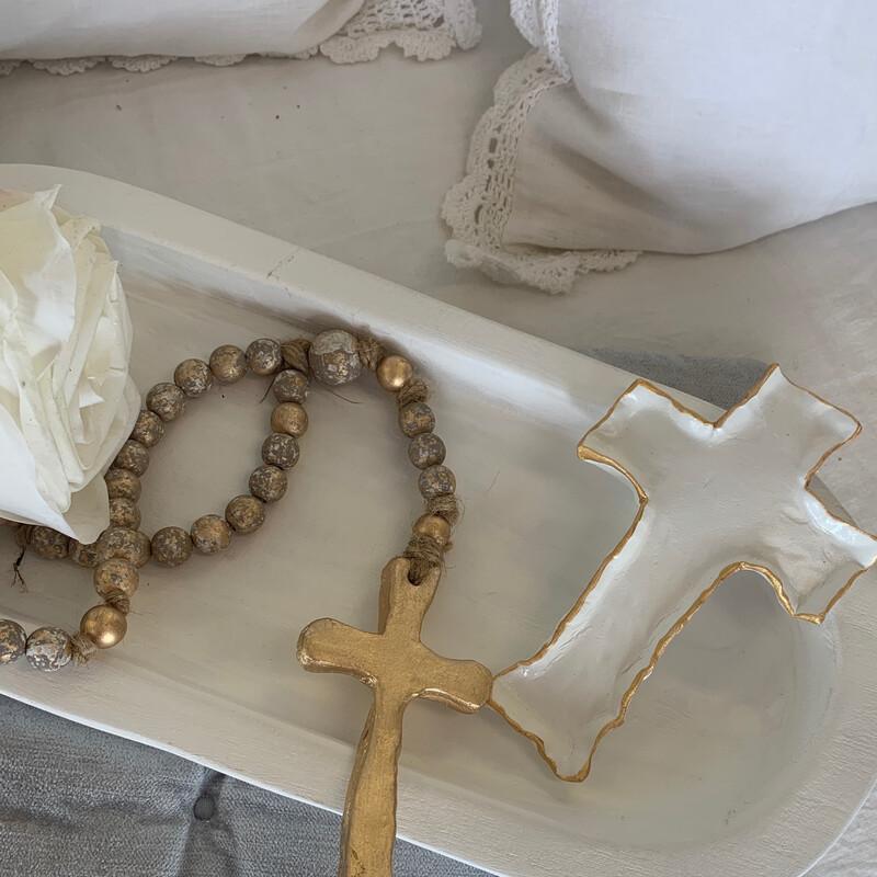 BSD Cross Dish White
