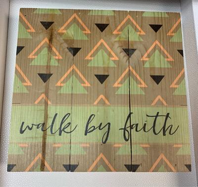 Faith Wooden Sign