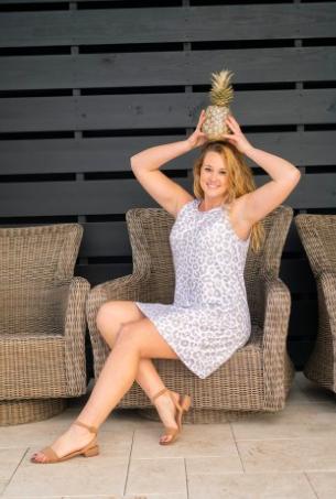 VL Vivian Leopard Dress
