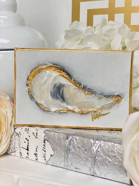 4x6 Oyster Painting