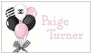 Custom Name Tags Designer Balloons