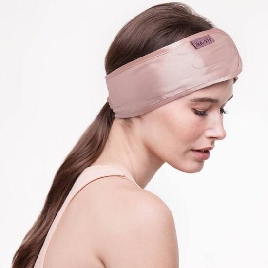 Kitsch Satin Headband Blush