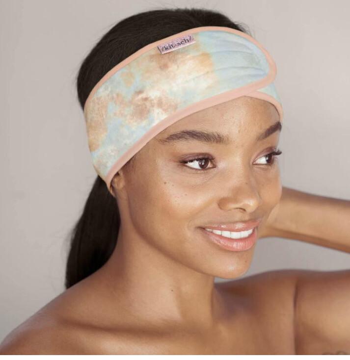 Kitsch Spa Headband Sunset Tie Dye