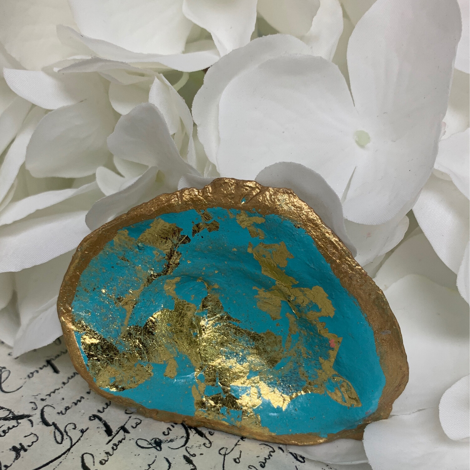 Painted Oyster Trinket 40