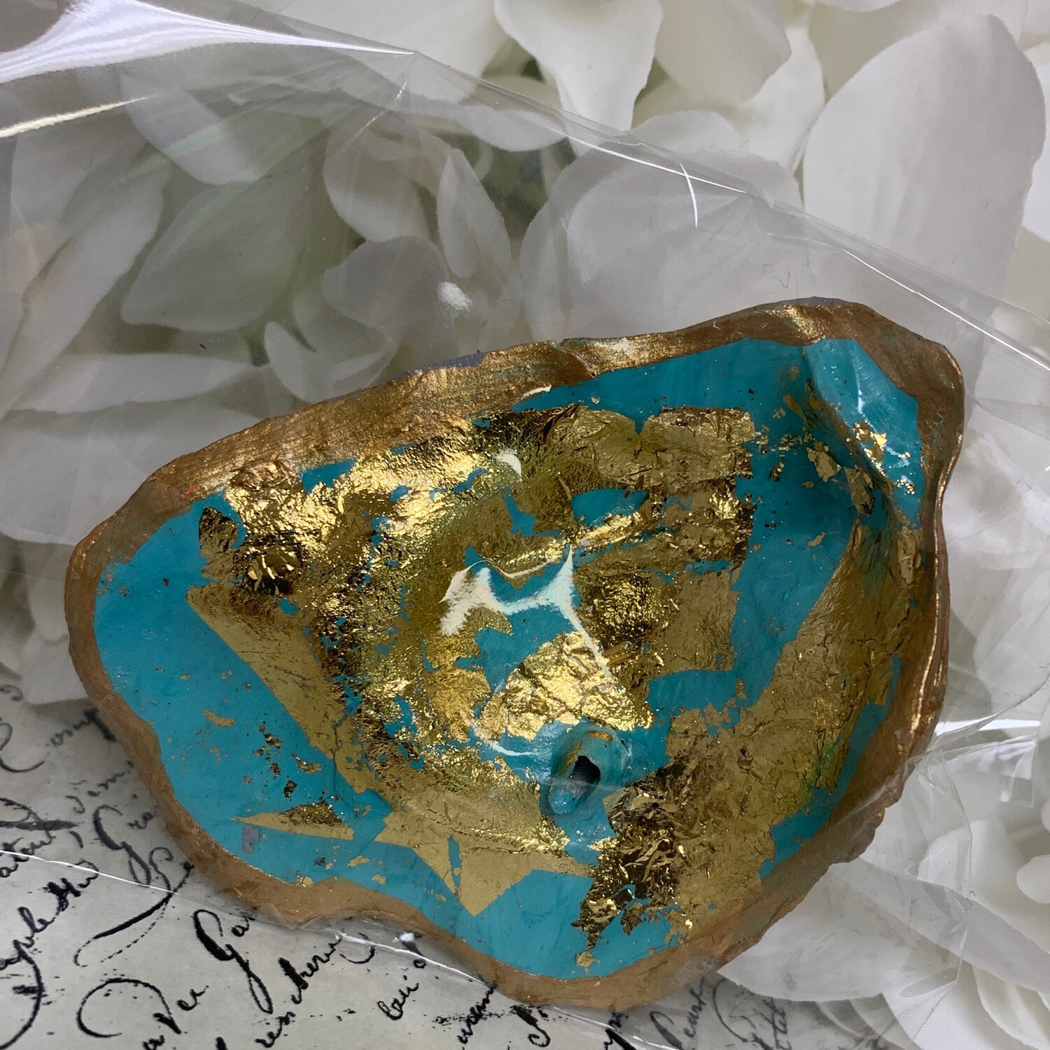 Painted Oyster Trinket 3