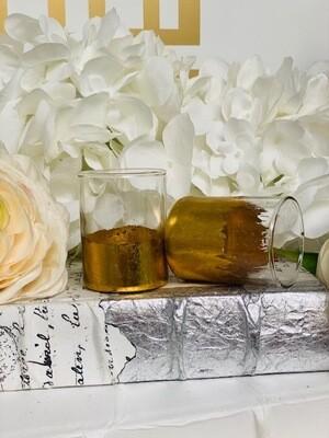 Gold Gild Shot Glass