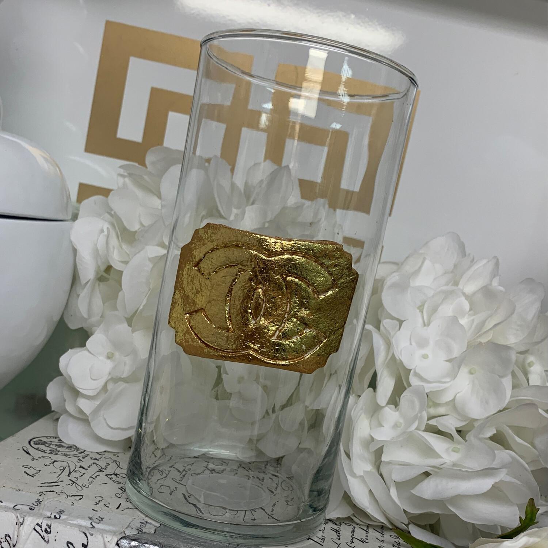 Designer Scallop Edge Vase CC