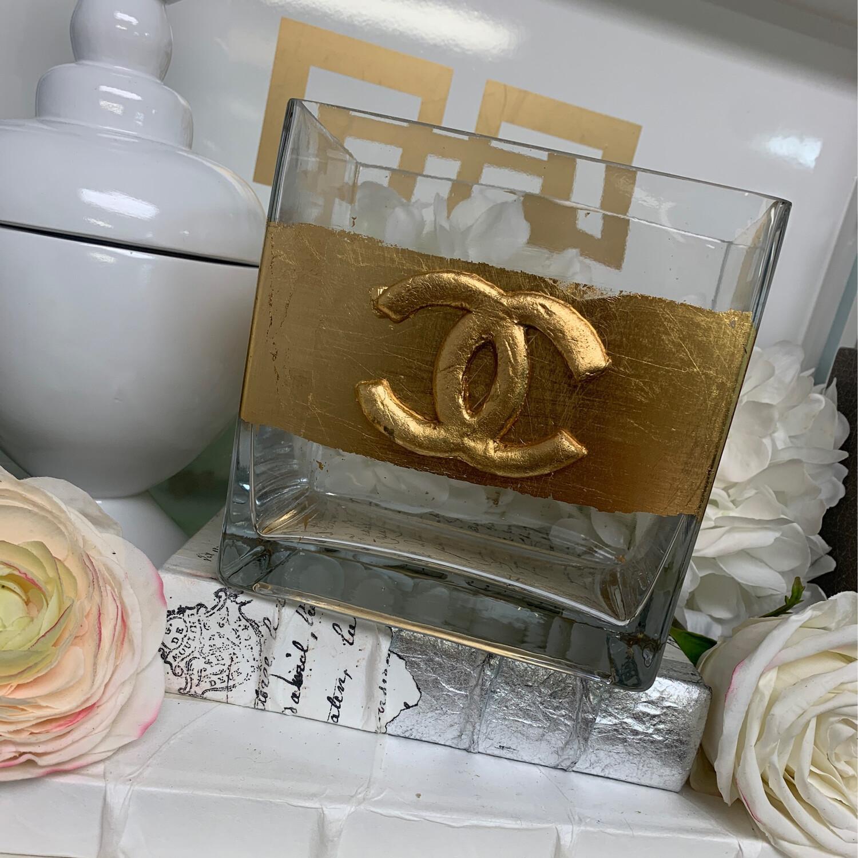 Designer Rectangle Vase CC
