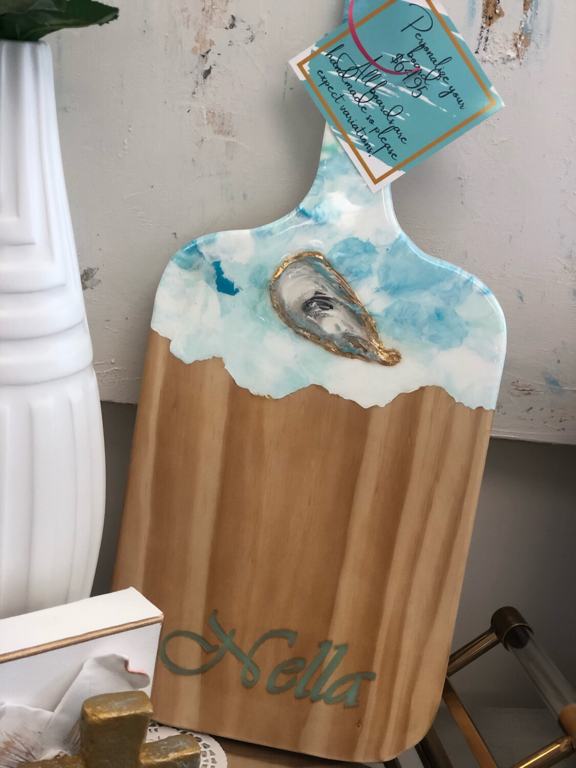 Charcuterie Board Personalized Oyster