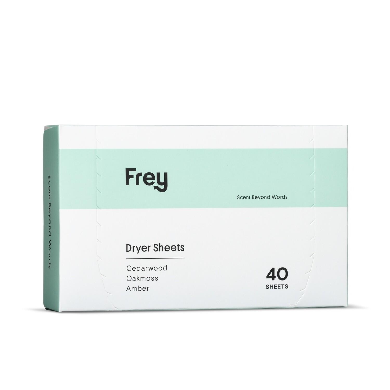 Frey Dryer Sheets Cedarwood