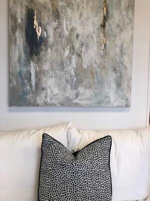 """22"""" Hopper Print Pillow"""