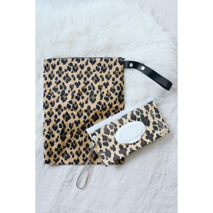 IR Wipes Travel Pouch Leopard