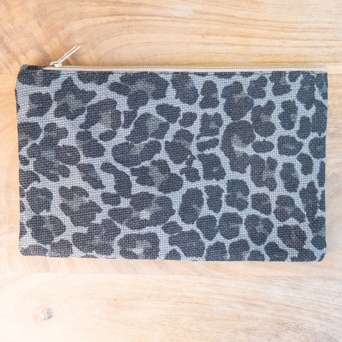 TRS Margo Leopard Cosmetic Bag Grey/Black