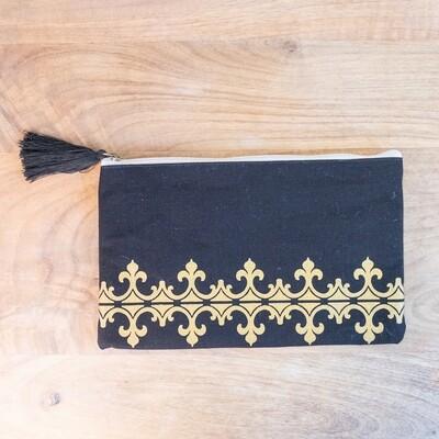 TRS Savannah Cosmetic Bag Black/Gold