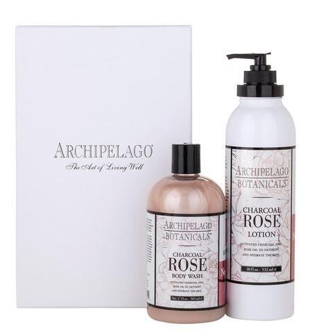 Archipelago Body Wash Charcoal Rose