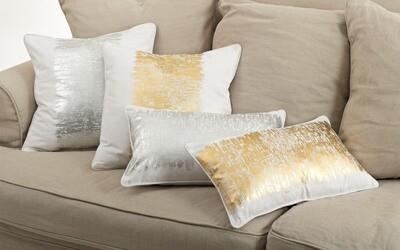SS 700 12x20 Pillow Silver