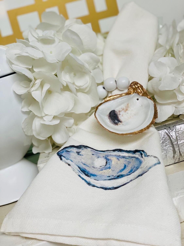 BSD Napkin Ring Oyster White