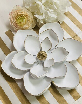 Ceramic Flower Wall Decor