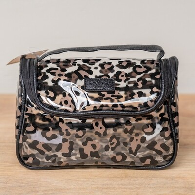 TRS Leopard Travel Cosmetic Bag