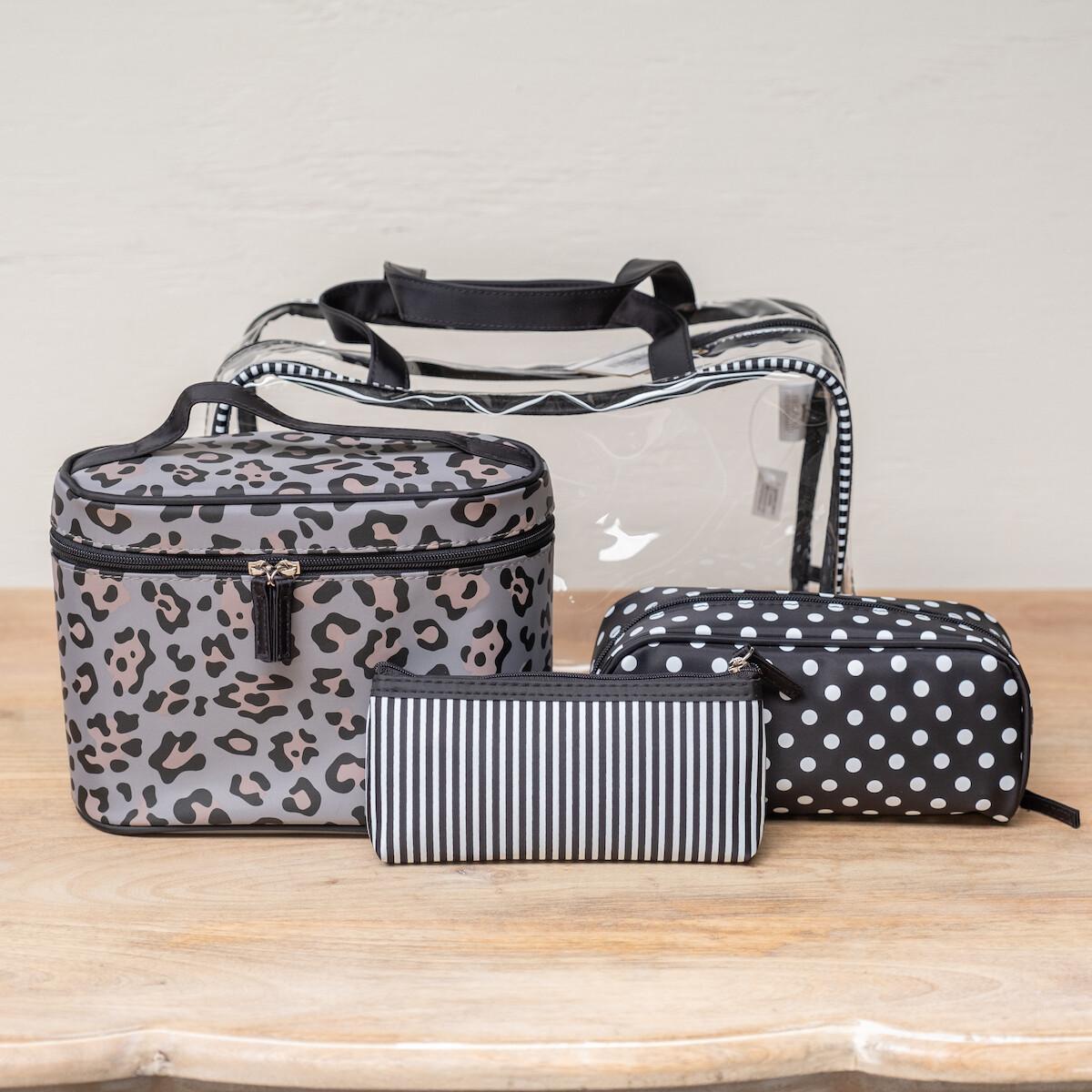 TRS Leopard Travel Gift Set