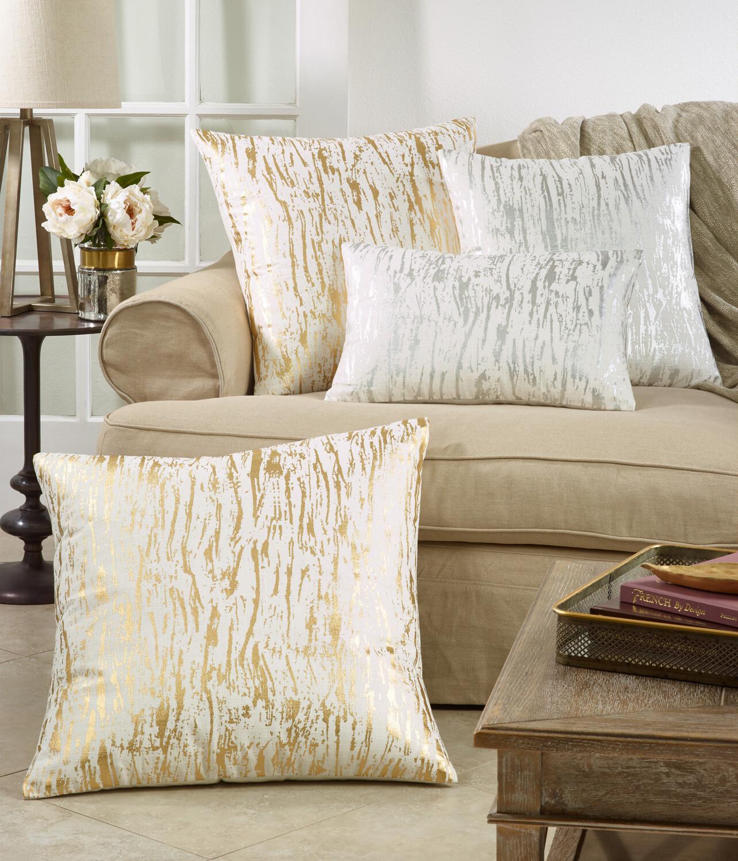 "SS 1612 20"" Pillow Silver"