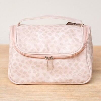 TRS Elicia Travel Cosmetic Bag Blush