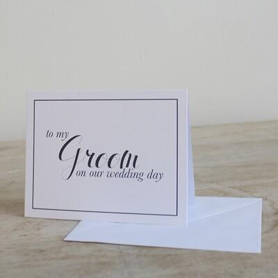 TRS Groom Notecards