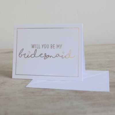 TRS Be My Bridesmaid Note Cards