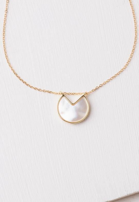 SP Yvonne Mother Of Pearl Necklace