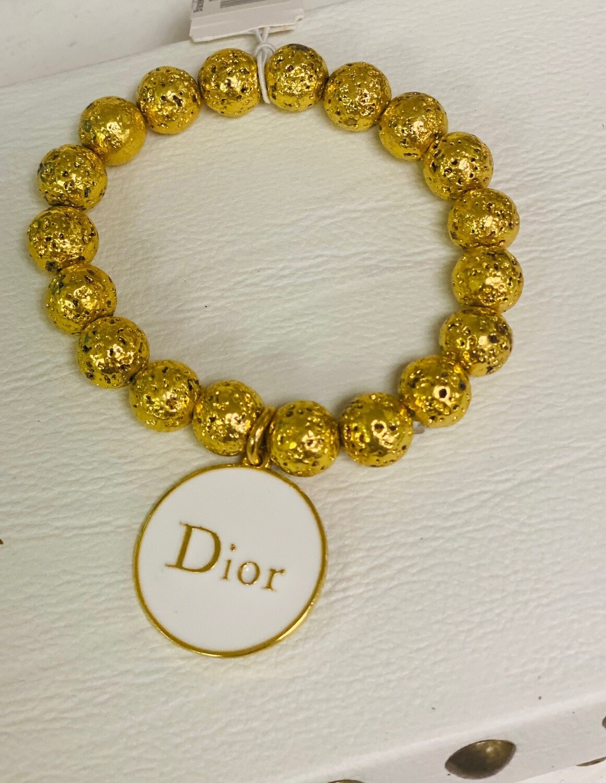 SJ Inspired Bracelet White Dior