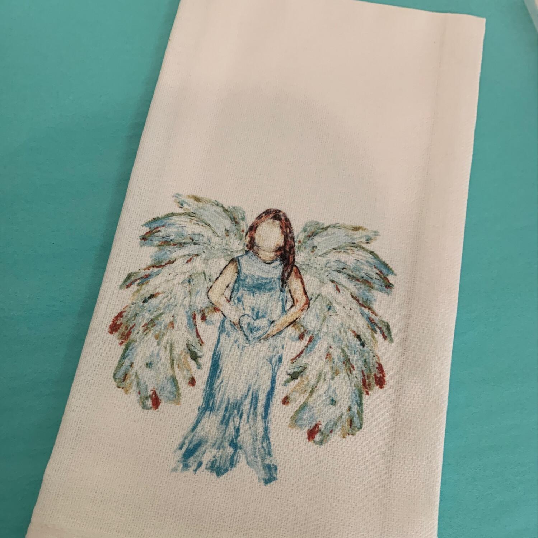 FG Cotton Towel Heart Angel