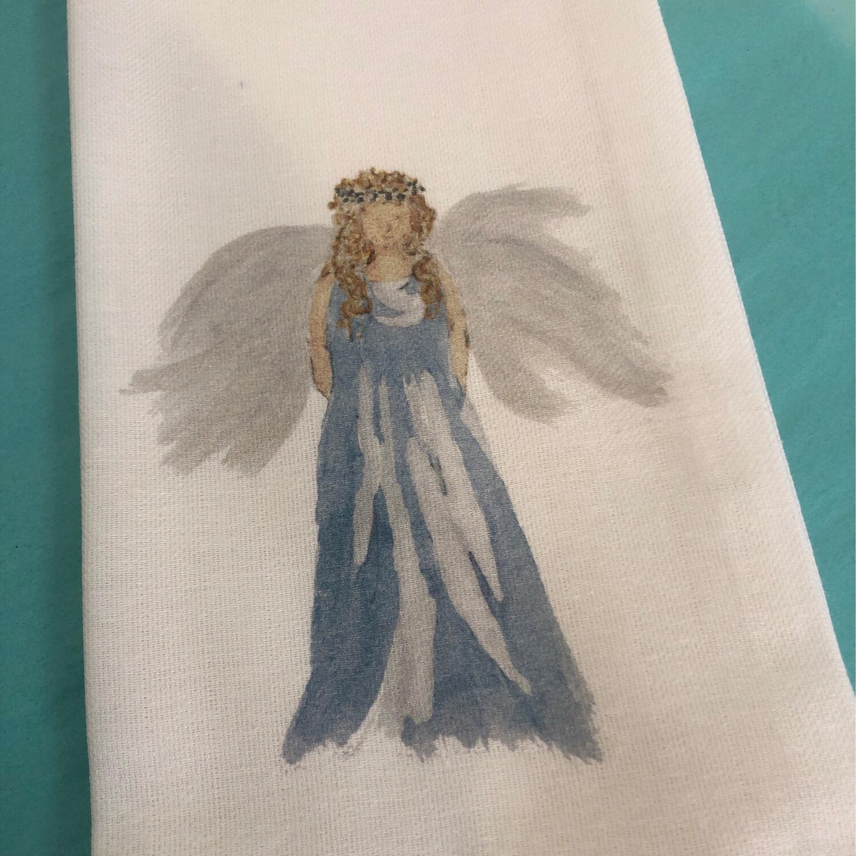 FG Cotton Towel Blue Angel