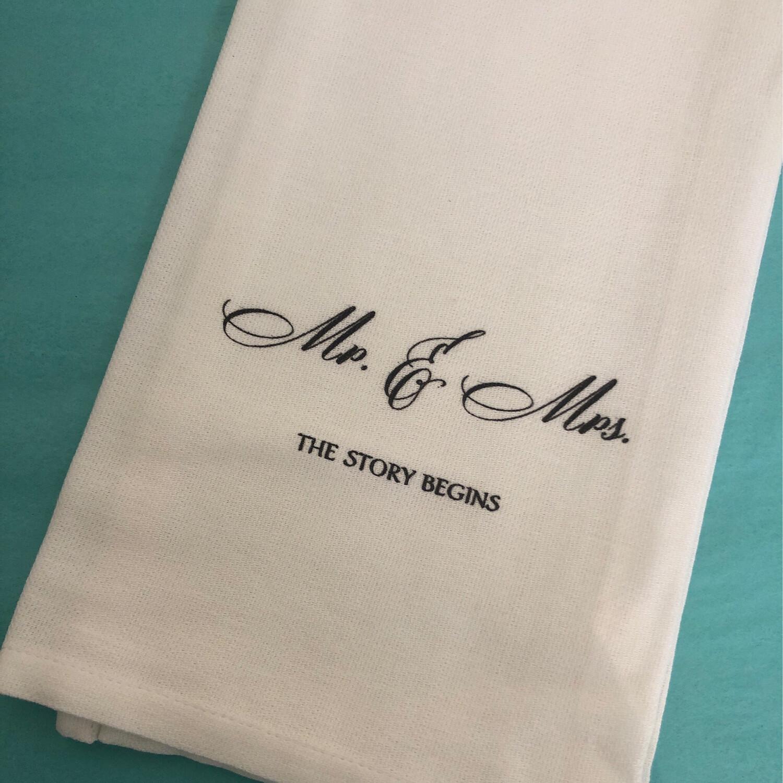 FG Cotton Towel Mr & Mrs