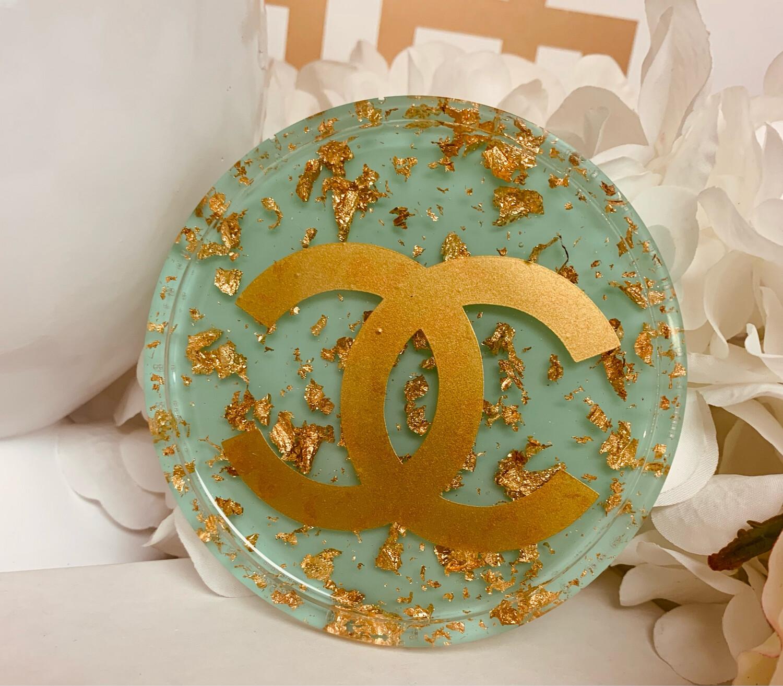 Acrylic Coaster CC Round