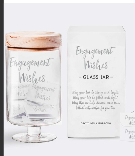 Engagement Wishes Jar