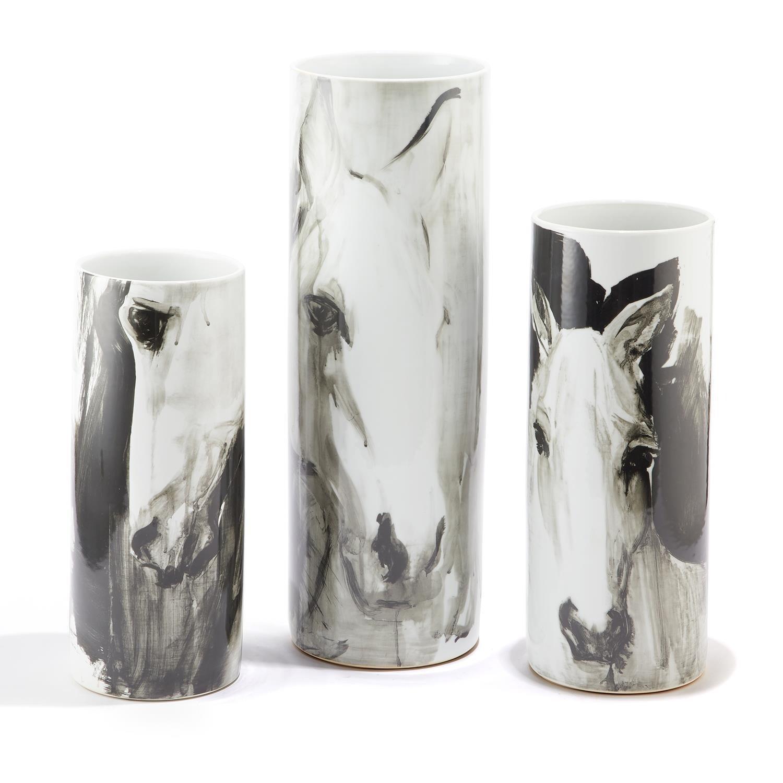 "17"" Horse Vase"