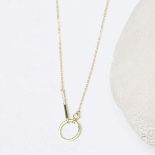 MM Necklace Carter Gold