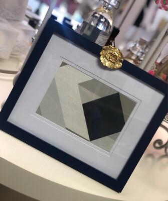 8x10 Designer Frame Navy Gucci