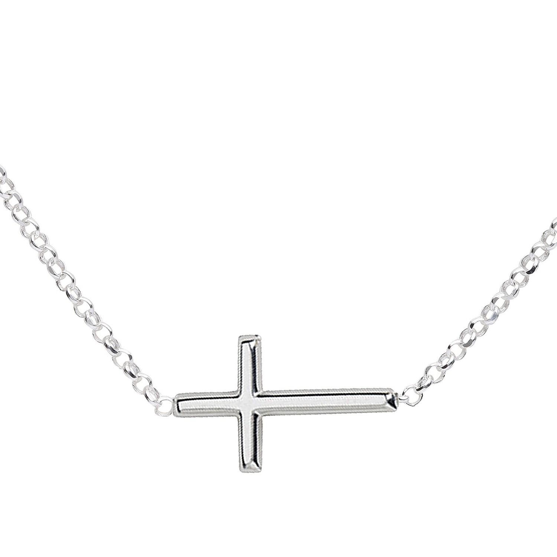 CM Necklace Silver Cross